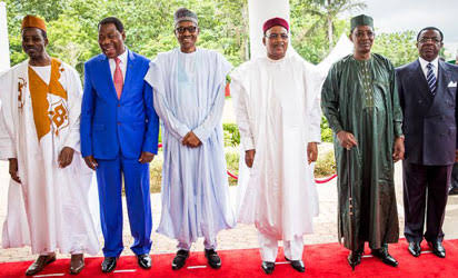 Buhari meets with Lake Chad Basin Commission heads today