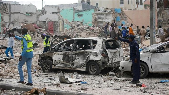 Cleric, 14 others killed in Somalia car bomb and gun attack