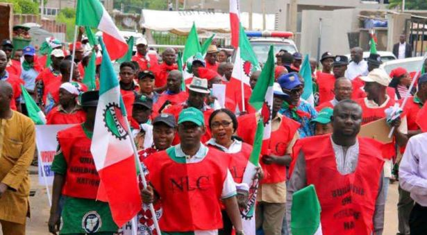 National Minimum Wage: Organised Labour vows to commence nationwide strike Tuesday