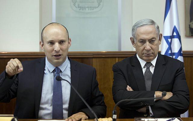 Israeli Edu. Minister Naftali Bennett slams Netanyahu, says he won't resign