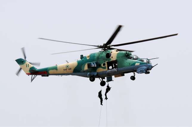 NAF strikes neutralise several Boko Haram terrorists in Borno