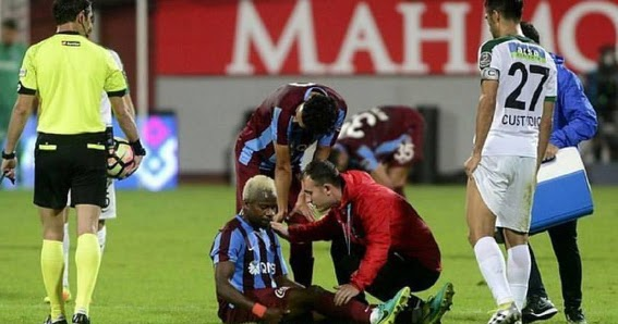 Nigerian midfielder, Onazi out for three weeks with muscle injury