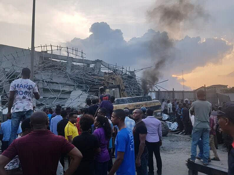 Seven-storey building collapses in Port Harcourt