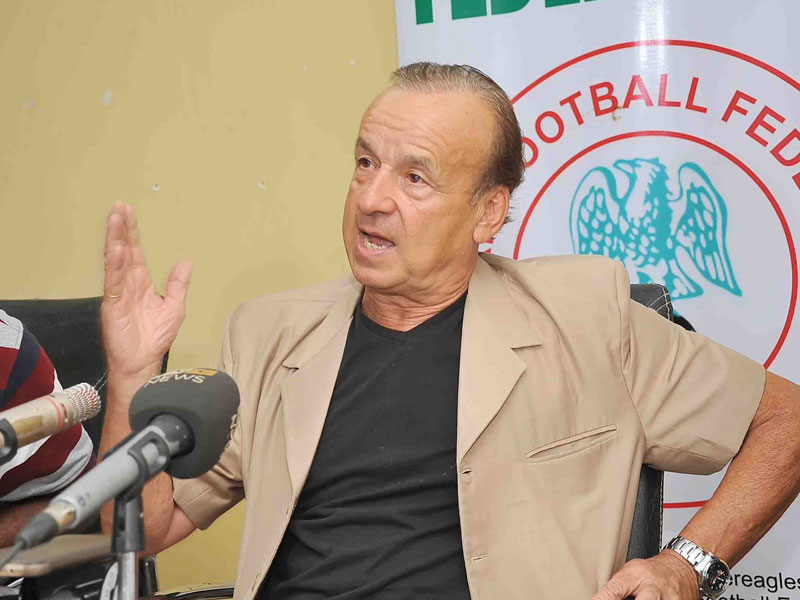 Age won't work against Eagles in AFCON – Rohr