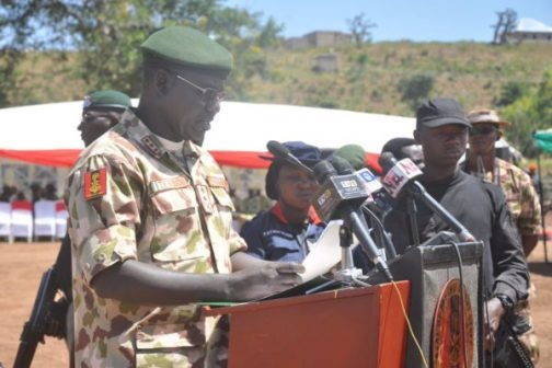 Nigerian Army confirms attack on soldiers in Borno