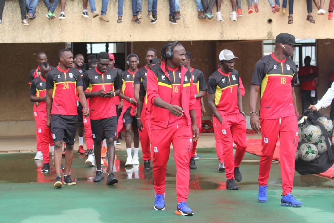 Uganda arrive Asaba for Int'l friendly against Nigeria