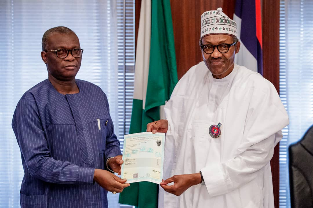 WAEC presents confirmation of result to President Buhari