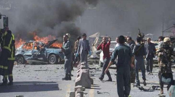 Scores feared dead as huge explosion rock Kabul, Afghanistan