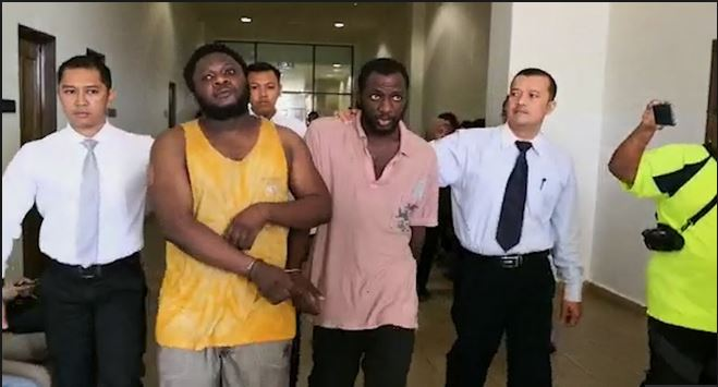 Two Nigerians charged over Malaysia scam