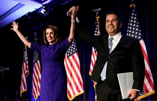 Setback for Trump as Democrats seize control of U.S. House of Representatives