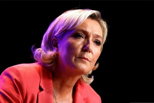 French far-right overtakes Macron in EU parliament election poll