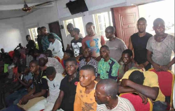 Police parades 33 suspected members of the proscribed IPOB