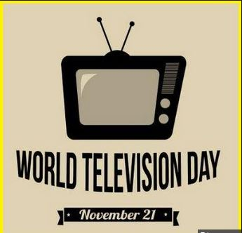 Today is 2018 World television day
