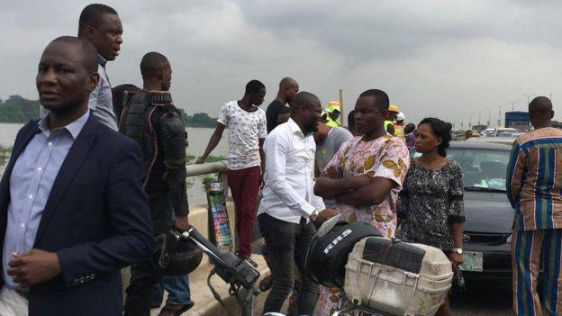Man commits suicide, leaps into the lagoon in Lagos