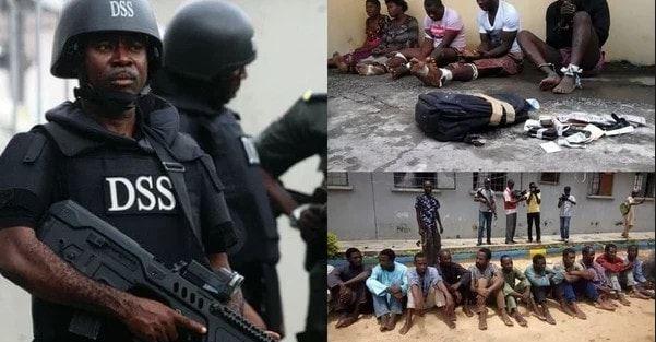 DSS arrests high profile criminals in Kaduna state