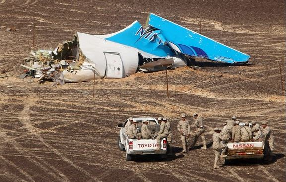 Russian-made fighter plane crashes in Egypt