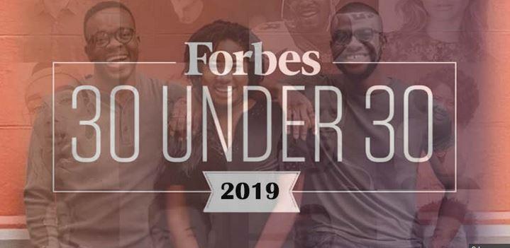8 Nigerians make 2019 `Forbes 30 under 30 list'