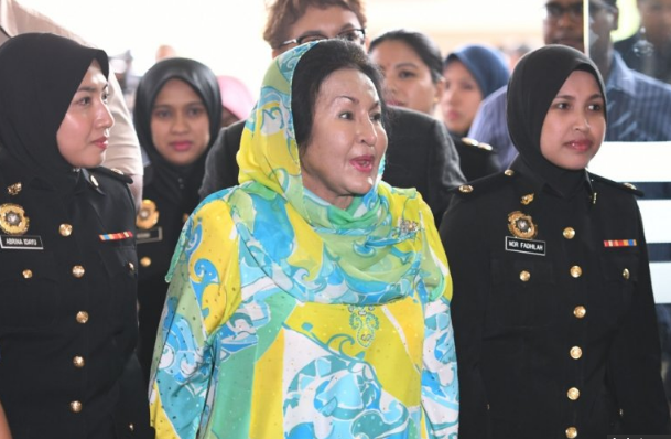 Wife of Malaysia's ex-PM Najib charged with two counts of corruption
