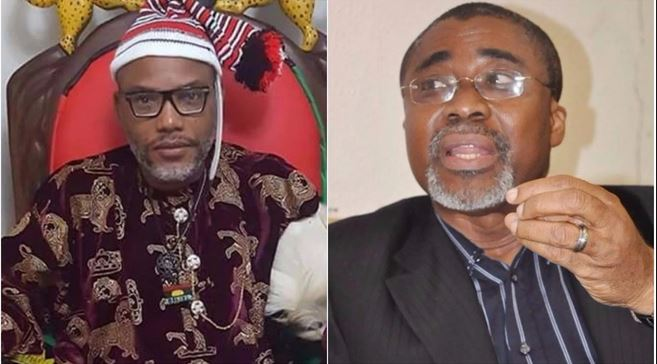 Sen. Abaribe, others to forfeit N300m bail bond for inability to produce Nnamdi Kanu