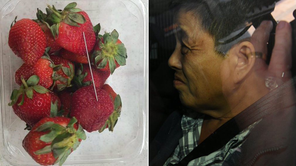 50 yr old woman arrested over strawberry sabotage in Australia