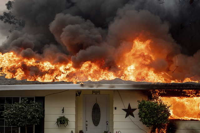 California wildfire: Governor Brown asks U.SGovt to declare major disaster