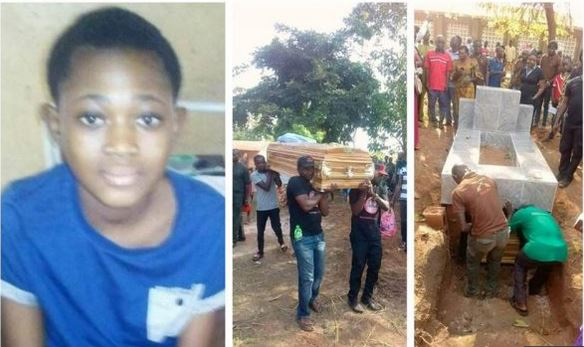 Teenage rape victim buried today in Benue amidst tears and anger