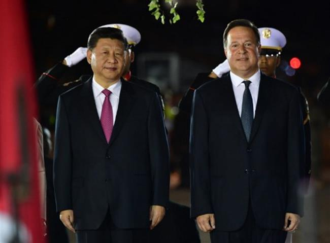Chinese president,  Xi Jinping, in Panama on first state visit