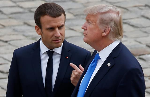 Trump takes another swipe at Macron over French fuel taxes