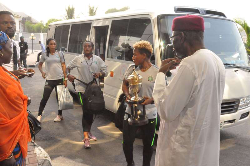Presidency, NFF welcome victorious Super Falcons