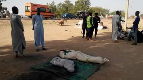 Normalcy returns to muna garage, Maiduguri following twin suicide bombings