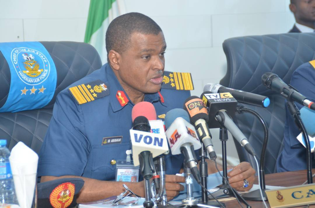 Airforce set for bombardment of criminal elements in Sokoto, others