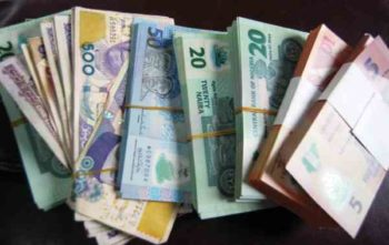 Naira falls to N369 at parallel market