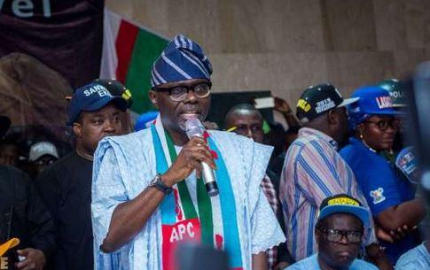 Sanwo-Olu takes campaign to Lagos East