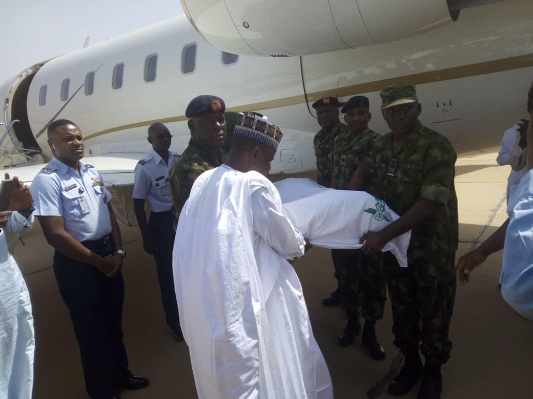 Tambuwal receives body of Shagari in Sokoto