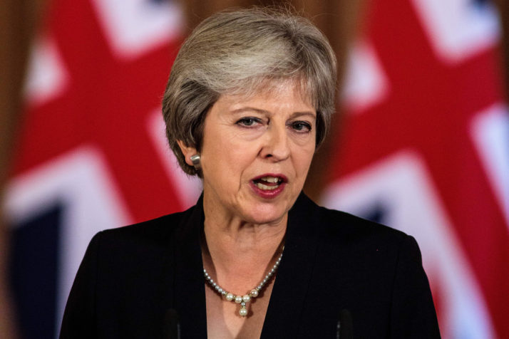 """""""Approve my deal or face an exit with no deal"""" – British PM"""