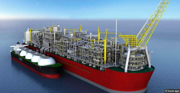 Royal Dutch Shell starts production on World's largest floating LNG platform