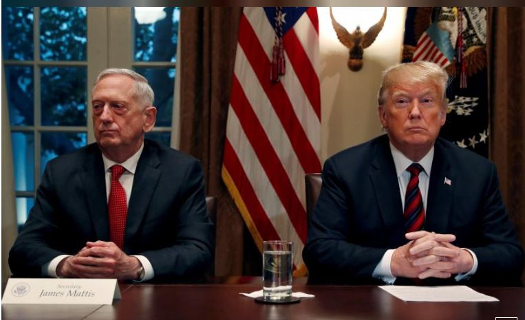 Angry Trump replaces Defence Secretary