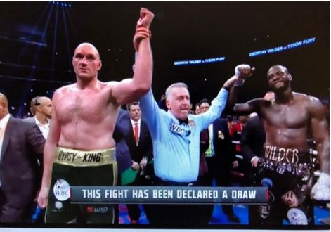 Tyson Fury, Wilder match ends in controversial draw