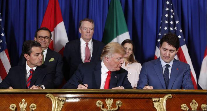 US, Canada, Mexico sign new NAFTA