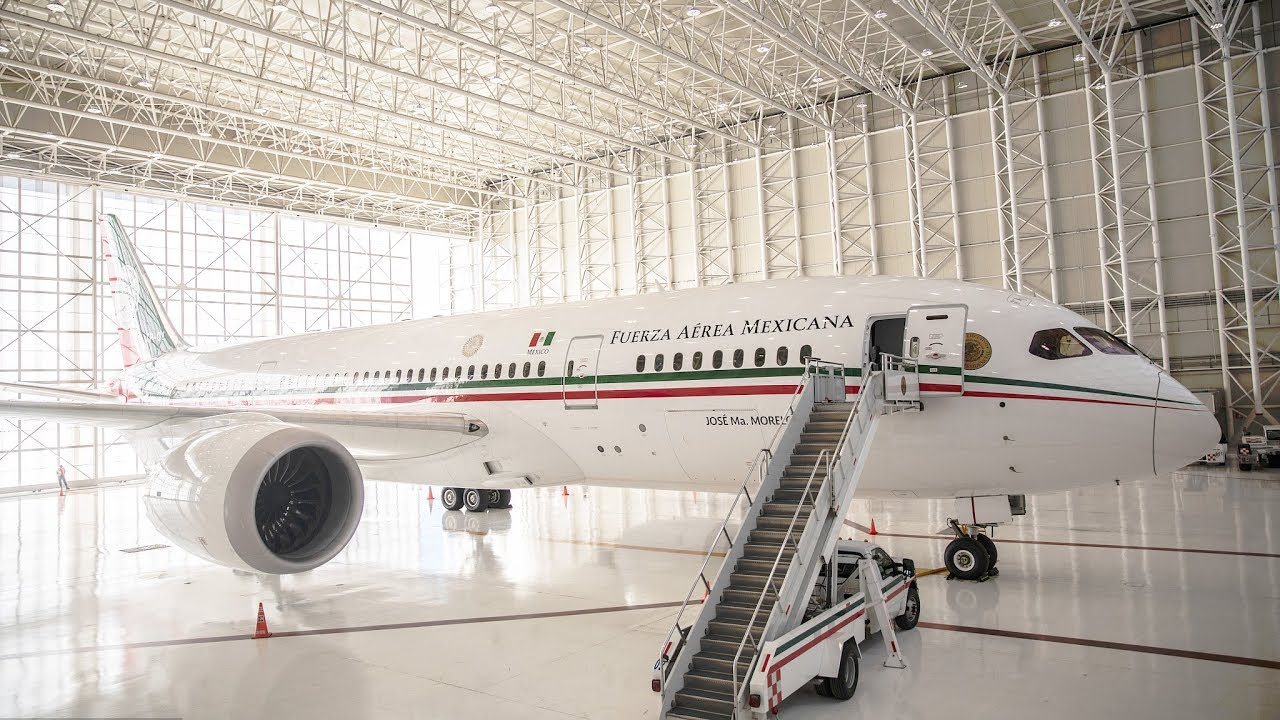 Curbing excess spending: Mexico's presidential plane up for sale