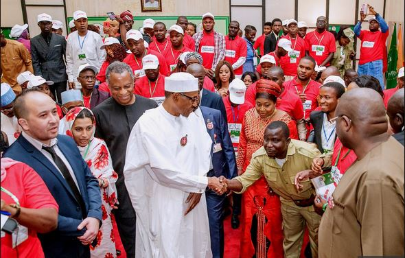 President Buhari launches 'Youth Congress Against Corruption'