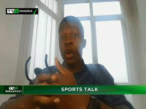 TVC Breakfast 25th October 2017 | Sports Talk with Olamide Osilade