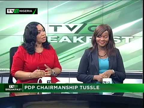TVC Breakfast October 11th   PDP chairmanship tussle
