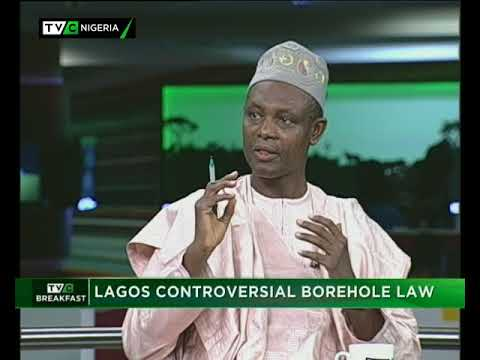 TVC Breakfast 28th September 2017   Lagos Controversial Borehole Law
