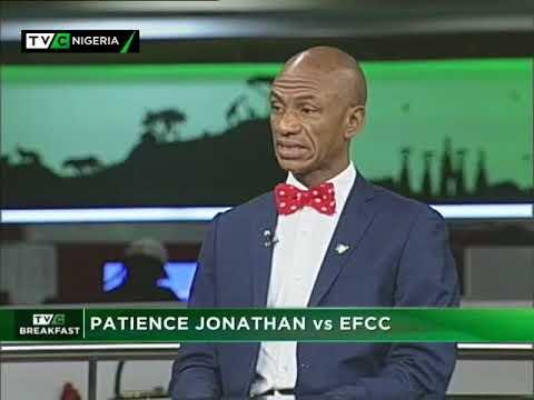 TVC Breakfast October 4th | Patience Jonathan vs EFCC