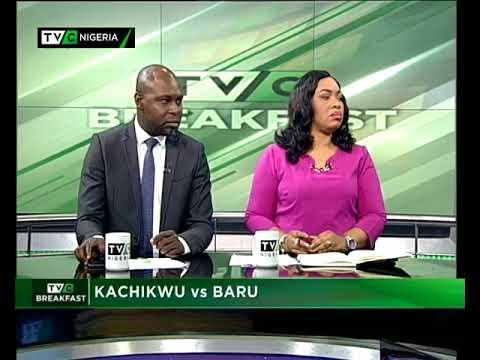 TVC Breakfast 9th October 2017 | Kachikwu VS Baru