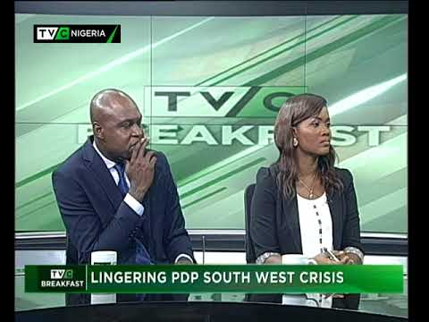 TVC Breakfast September 26th | Lingering PDP South West crisis