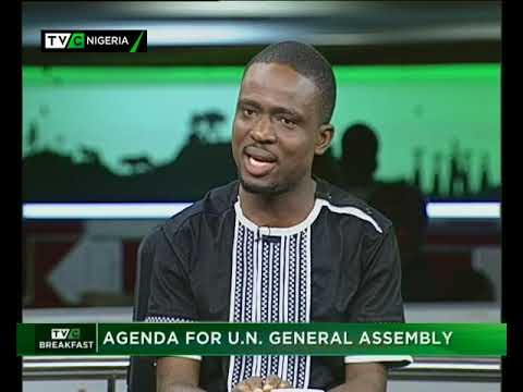TVC Breakfast 19th September 2017 | Agenda for U.N. General Assembly