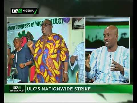 TVC Breakfast 19th September 2017 | ULC's Nationwide Strike