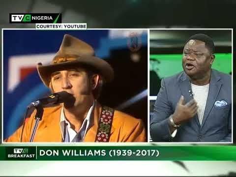 TVC Breakfast 15th September 2017 | Don Williams (1939 – 2017)